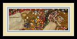 Gustav Klimt Sea Serpents VII