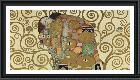 Gustav Klimt Embrace