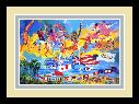 LeRoy Neiman American Gold 1984