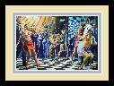 Mort Kunstler Discotheque Takeover of the Savage Corrupters