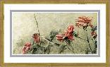 Robert Bateman House Finch and Roses