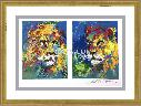 LeRoy Neiman Lion and Lioness