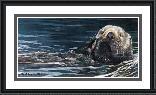 Robert Bateman Sea Otter Study